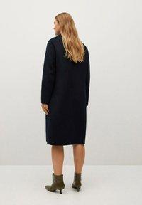 Violeta by Mango - NAVY - Classic coat - dunkles marineblau - 2