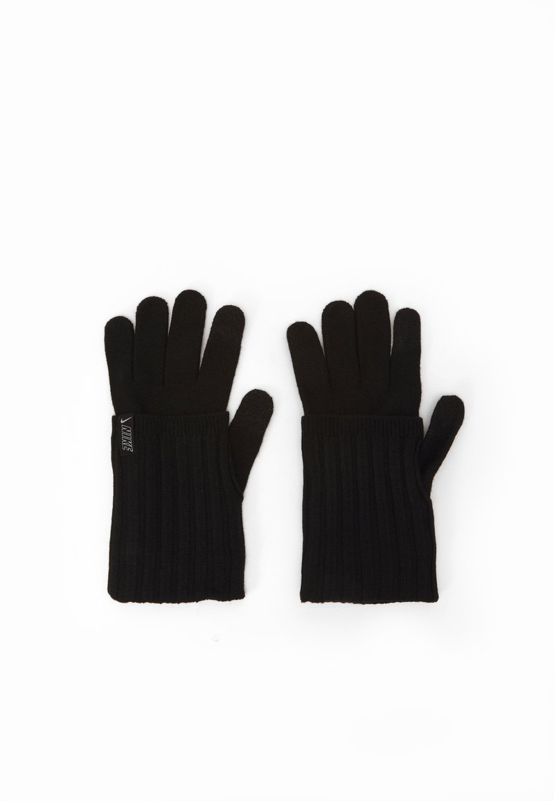 Nike Performance - COLD WEATHER KNIT GLOVES - Hansker - black/black/silver