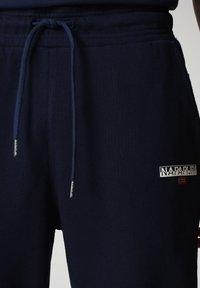 Napapijri - M-ICE - Tracksuit bottoms - medieval blue - 3