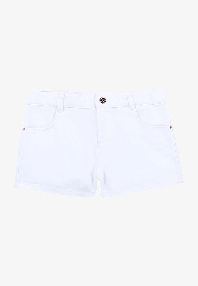 Jeansshort - blanc