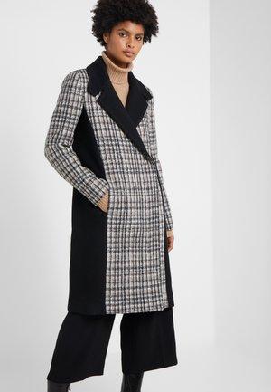 CAPPOTTO COAT - Classic coat - black/grey