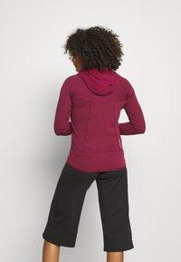 Salewa - ROLLE - Fleece jacket - rhodo red - 2
