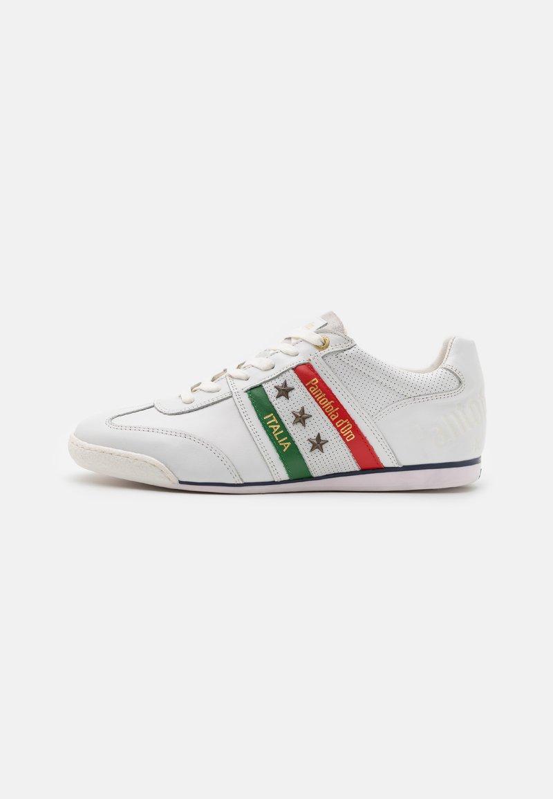 Pantofola d'Oro - IMOLA ROMAGNA FLAG UOMO  - Sneakers laag - bright white