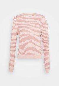 ONLY - ONLCERIE - Sweatshirt - seashell pink/gilded beige glitter - 5