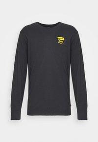 Levi's® - RELAXED FIT TEE UNISEX - Långärmad tröja - jet black - 5