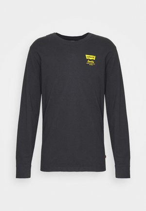 RELAXED FIT TEE UNISEX - Long sleeved top - jet black