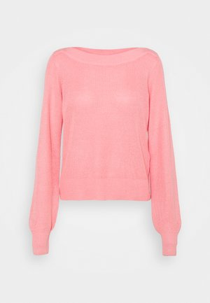 VMNEWLEXSUN BOATNECK - Svetr - geranium pink