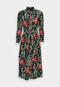 King Louie - ROSIE MIDI DRESS FLORENCE - Shirt dress - black - 3
