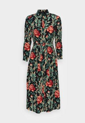 ROSIE MIDI DRESS FLORENCE - Košilové šaty - black