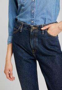 Lee - TAILORED MOM - Straight leg jeans - dark worn - 3