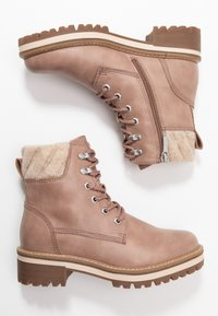 Tamaris - Lace-up ankle boots - rose - 3