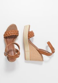 Anna Field - High heeled sandals - cognac - 3