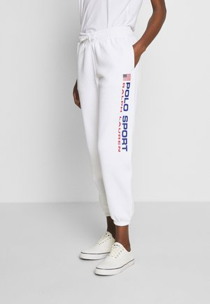 ANKLE PANT - Tracksuit bottoms - white