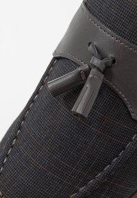 Burton Menswear London - SYDNEY - Nazouvací boty - navy - 5