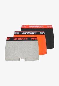 Superdry - TRIPLE PACK - Onderbroeken - orange/black/grey - 6