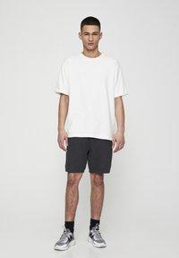 PULL&BEAR - Shorts - dark grey - 1