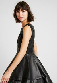 ONLY - ONLCORINNE DRESS - Kjole - black - 4