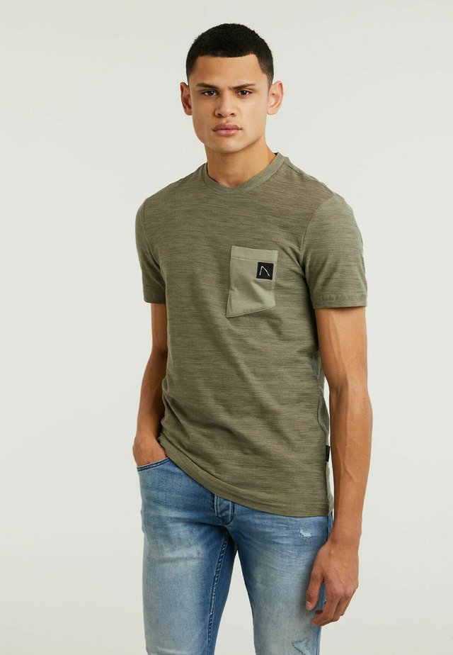TODAY - T-shirt con stampa - green