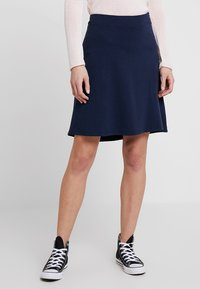 Freequent - A-line skirt - navy - 0