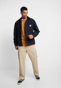 Carhartt WIP - MICHIGAN COAT DEARBORN - Summer jacket - dark navy rinsed - 1