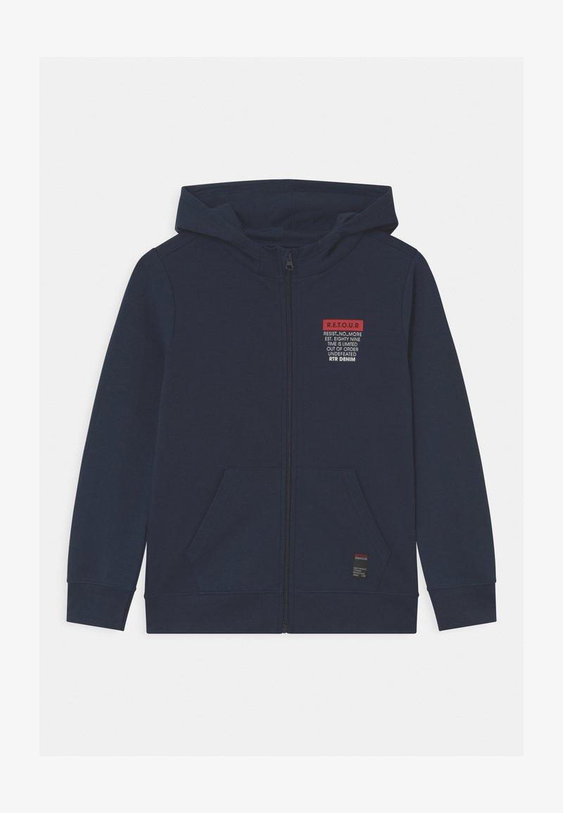 Retour Jeans - JARNO - Zip-up hoodie - dark navy