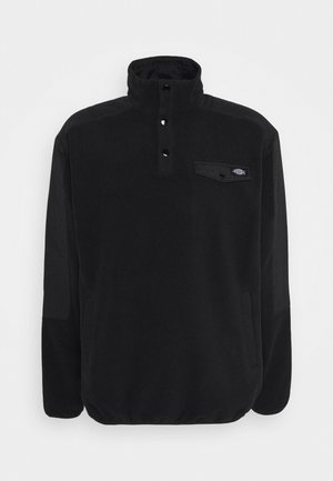 PORT ALLEN - Fleecejacke - black