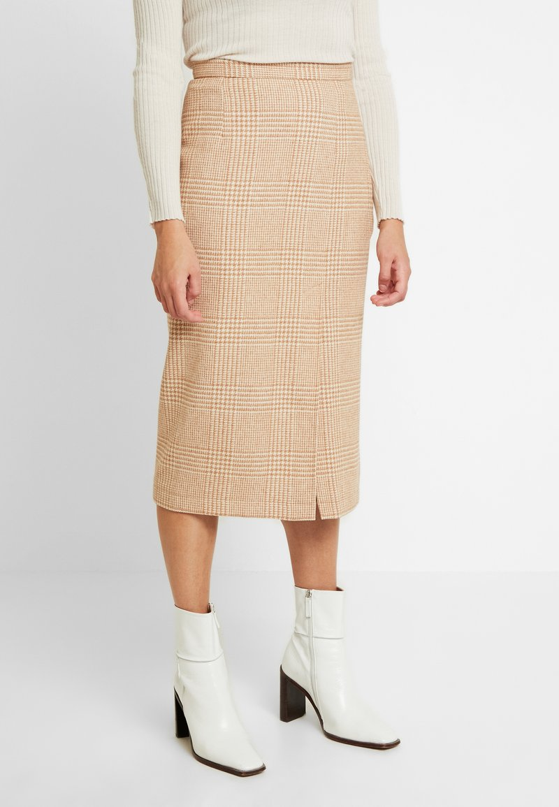 EDITED - STEPH SKIRT - Jupe crayon - camel