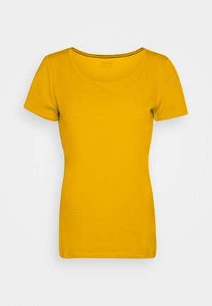 CORE  - T-shirt basic - brass yellow