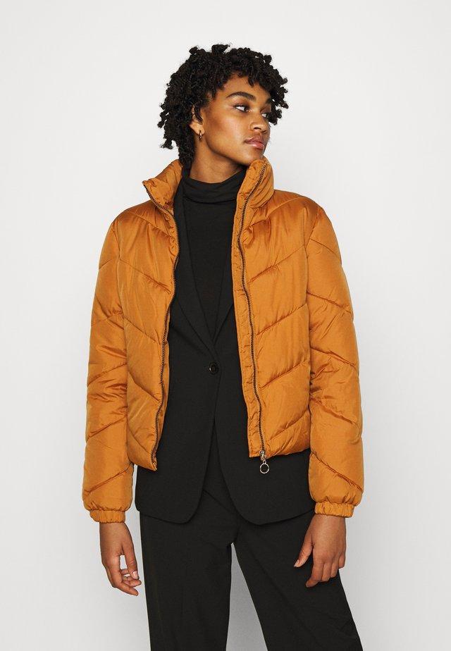 JDYFINNO PADDED JACKET - Winter jacket - sudan brown