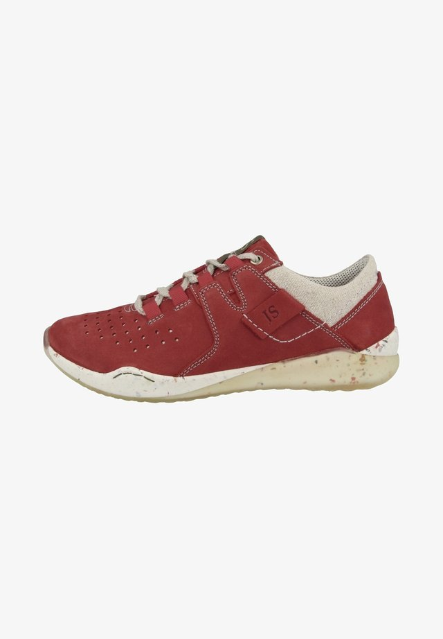 RICKY - Sneakers laag - red combi