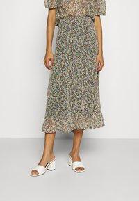 Lindex - SKIRT CLAUDIA - A-line skirt - black - 0