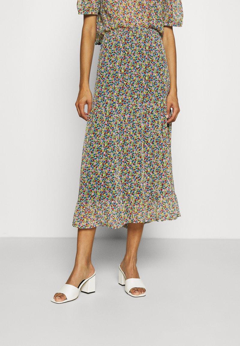 Lindex - SKIRT CLAUDIA - A-line skirt - black