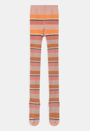 STRIPY - Tights - coral