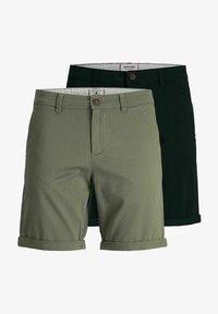 Jack & Jones - 2 PACK - Shorts - dusty olive - 5