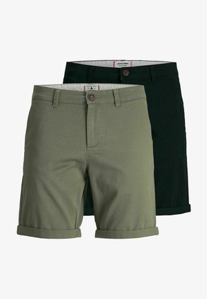 2 PACK - Shorts - dusty olive