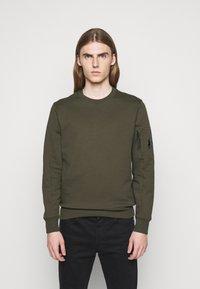 C.P. Company - CREW NECK - Sweatshirt - ivy green - 0