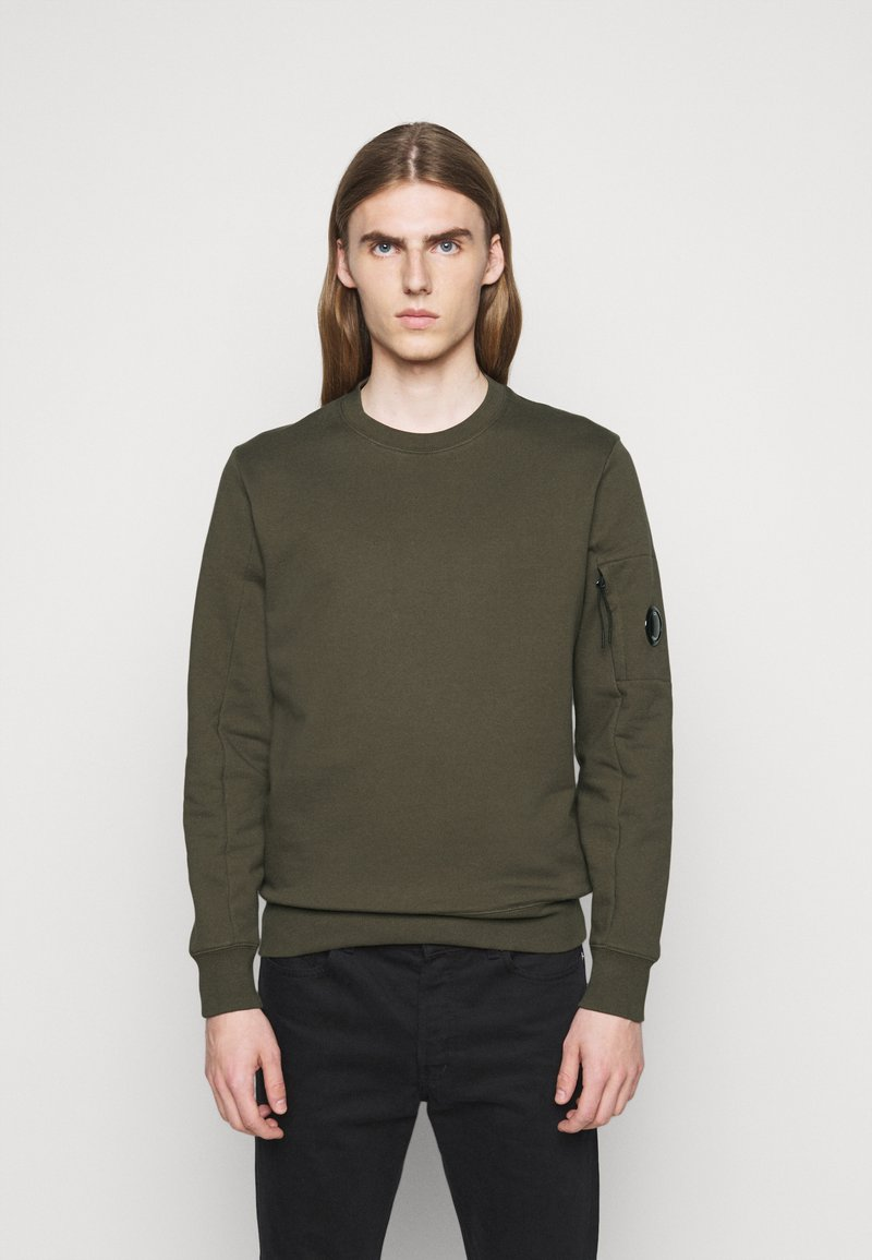 C.P. Company - CREW NECK - Sweatshirt - ivy green
