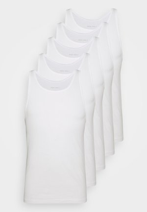 5 PACK - Undershirt - white