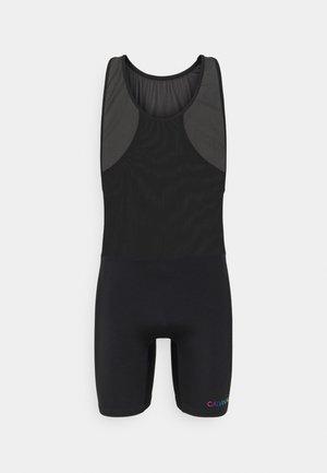 PRIDE BODYSUIT - Shorts da mare - black