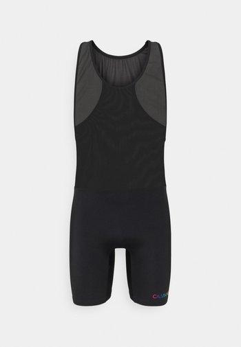 PRIDE BODYSUIT - Swimming shorts - black