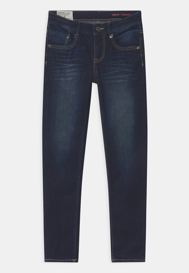 Vingino - ANZIO - Jeans Skinny Fit - dark used