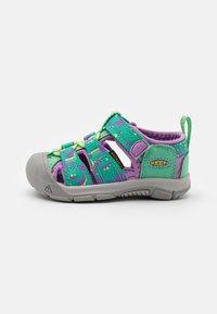 Keen - NEWPORT H2 UNISEX - Walking sandals - katydid/african violet - 0