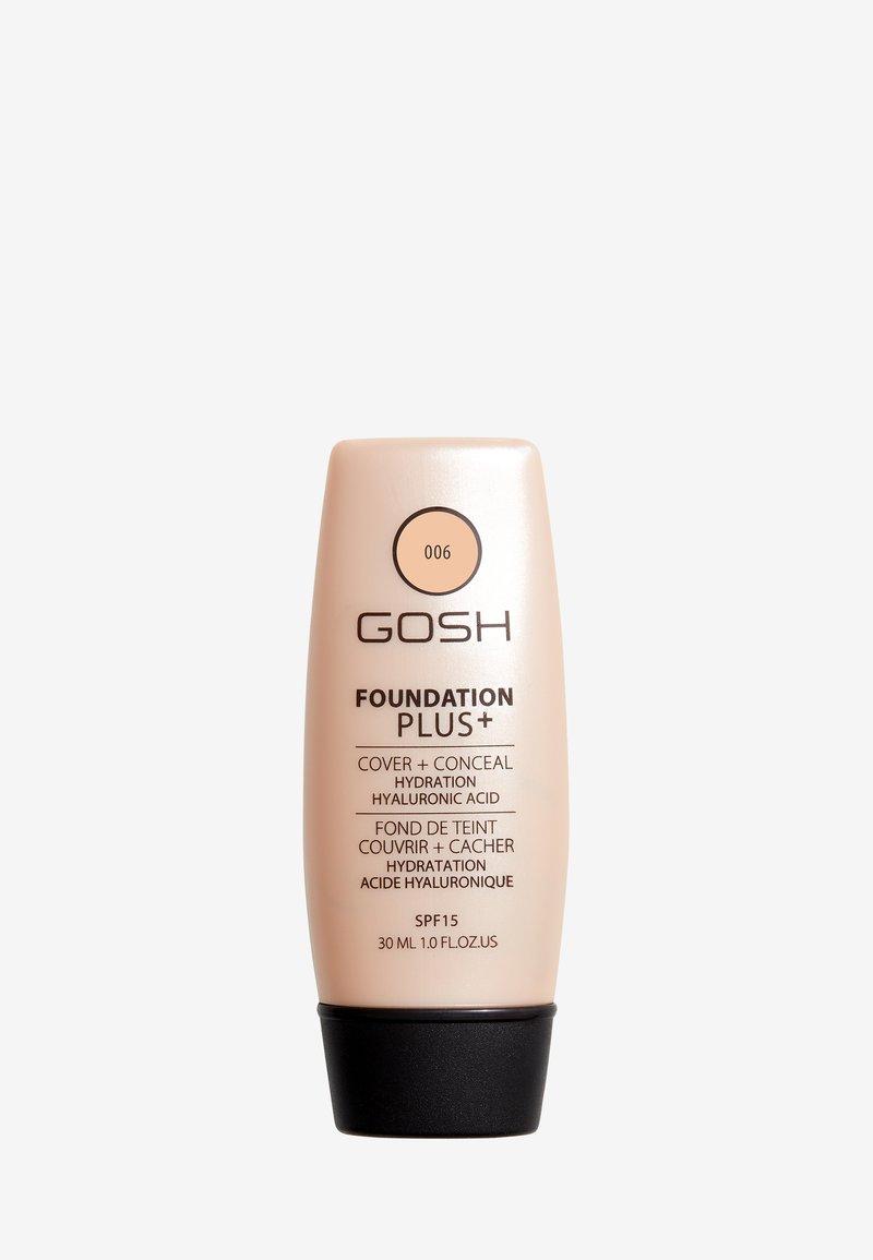 Gosh Copenhagen - GOSH FOUNDATION PLUS +  - Foundation - 006 honey
