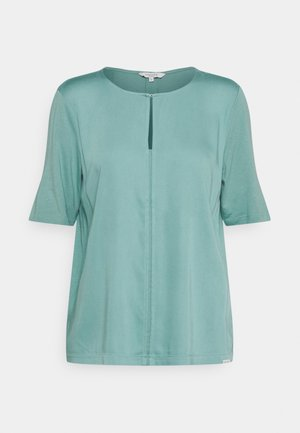 FEMININE FABRIC MIX - T-shirts med print - mineral stone blue