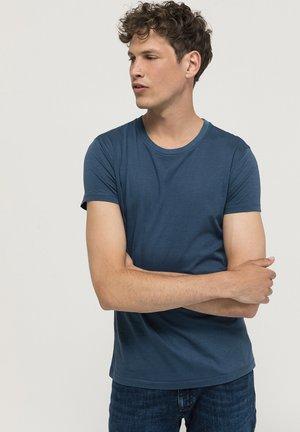 T-shirt basic - nachtblau