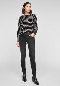 s.Oliver - Jumper - black stripes - 1