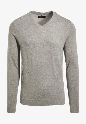 Jersey de punto - gris foncé