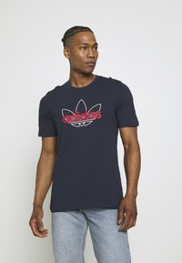 adidas Originals - GRAPHIC - T-shirt imprimé - legend ink - 0