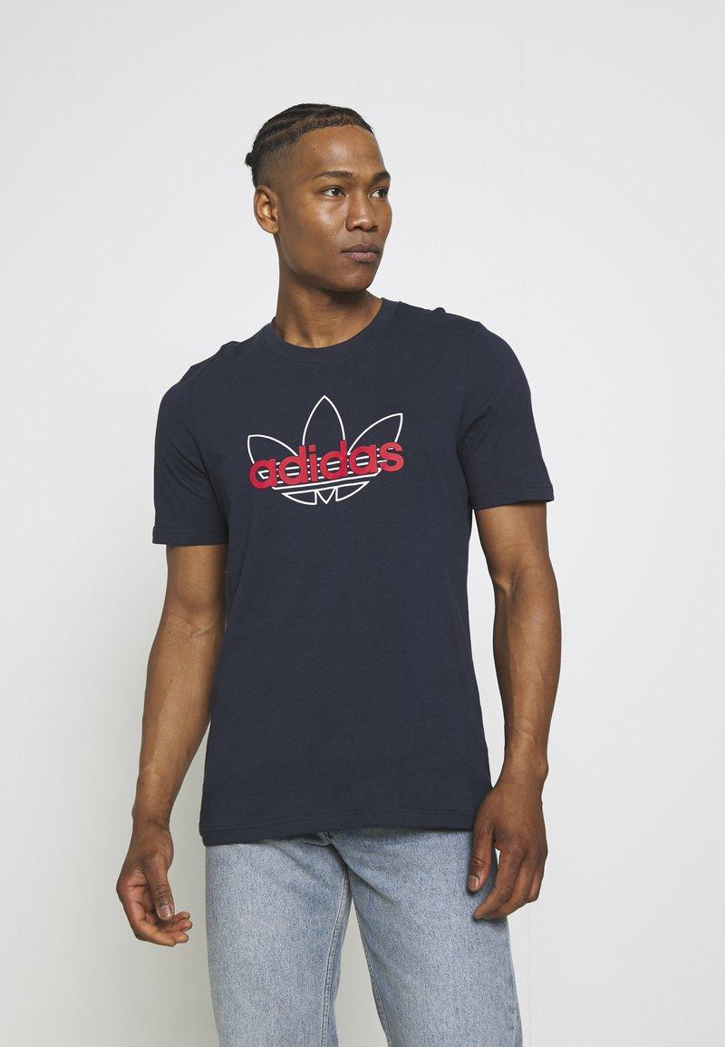 adidas Originals - GRAPHIC - T-shirt imprimé - legend ink