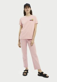 Scotch & Soda - Print T-shirt - petal pink - 1